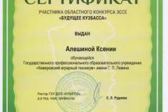 Сертификат 1 - 0001
