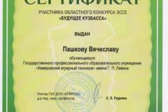 Сертификат 1 - 0007