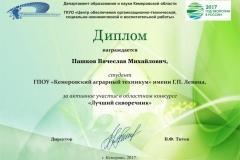 Пашков В._Диплом участника ДОиН_Лучший скворечник-2017