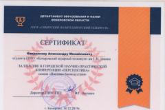 Сертификат 2 - 0004