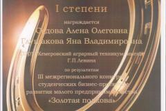 Седова А., Глушакова Я_Диплом 1 место_ ДОиН _23.01.2020